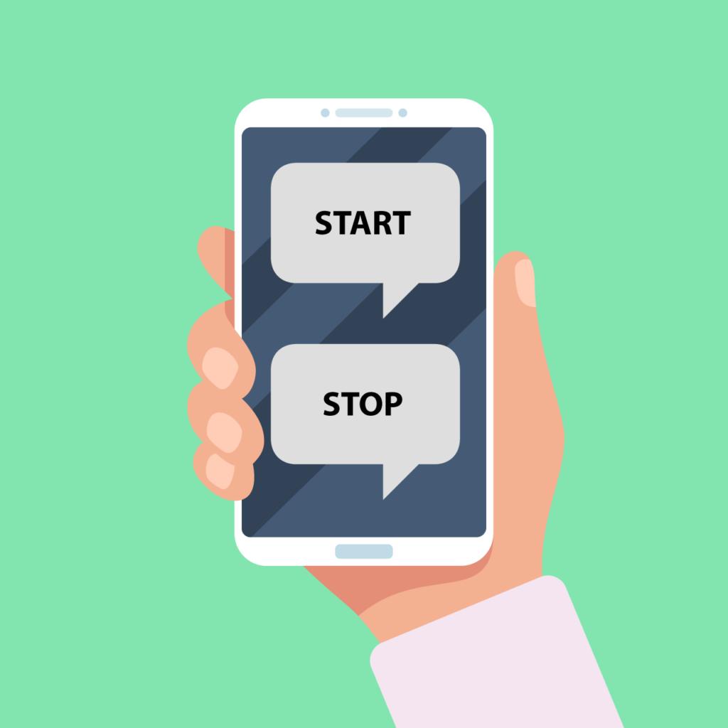 Medarbejderne hos Datacon sender SMS for at melde sig på og af vagterne